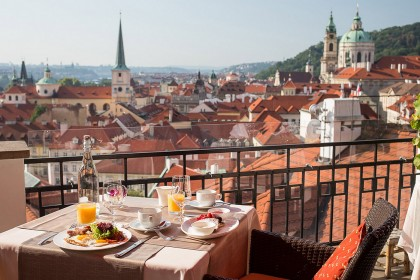 Exclusive restaurants in Prague