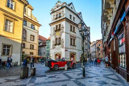 Programme offers for Spring in Prague